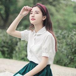 Meimei - 短袖衬衫