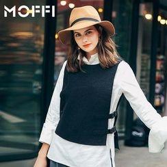 MOFFI - Buckled Vest