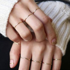 Calypso - 八件套: 簡約戒指