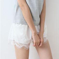 NANA Stockings - 蕾絲邊打底褲