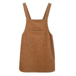 ZZ Lady - Corduroy Pinafore Dress