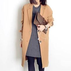 DEMI - Notched-Lapel Trench Coat