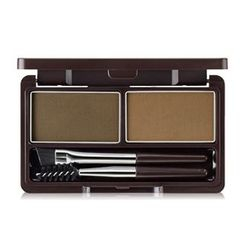 The Saem - Eco Soul Eyebrow Kit (#01 Natural Brown)