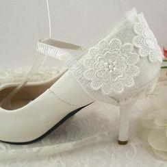 Blue Fairy - Lace Shoes Strap