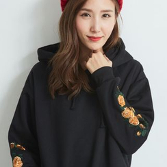BAIMOMO - Long-Sleeve Hooded Top