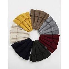 FROMBEGINNING - Rib-Knit Beanie