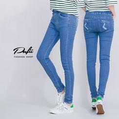PUFII - Eastric-Waist Leggings
