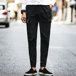 Belinsky - Drawstring Slim Fit Pants