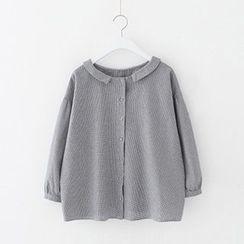 Meimei - Plain Collared Top