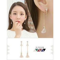 soo n soo - Tassel Dangle Earrings