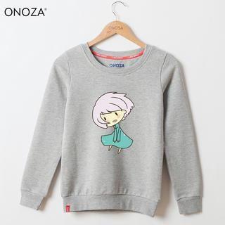 Onoza - Cartoon-Print Pullover