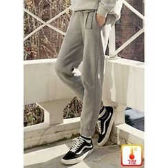 JOGUNSHOP - Fleece-Lined Sweatpants