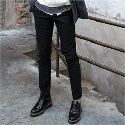 Smallman - Fleece-Lined Dress Pants