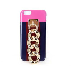 DABAGIRL - Chain Color-Block iPhone 6 / 6 Plus / 7 / 7 Plus Case