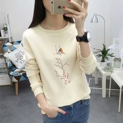 Emeline - Embroidered Pullover