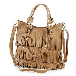MBaoBao - Convertible Fringe Tote