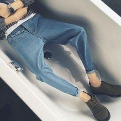 Soulcity - 垂下低胯牛仔裤