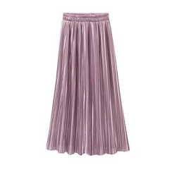 Coronini - Pleated Maxi Skirt