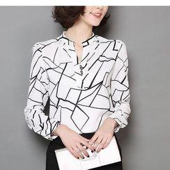 Fumoya - 印花衬衫