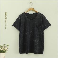 Storyland - Short-Sleeve Pocket-Accent T-Shirt