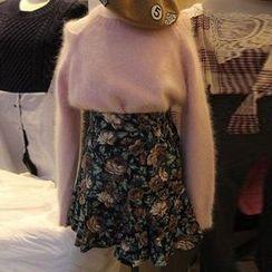 Ashlee - Cutout Shoulder Knit Top