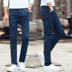 Denimic - Plain Chino Pants