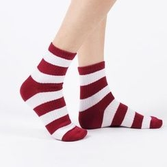 Aeoo - Striped Socks 5Pairs