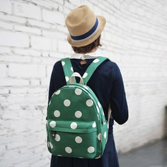 SUPER LOVER - Polka Dot Backpack