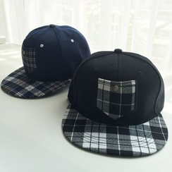 EVEN - Plaid Baseball Cap