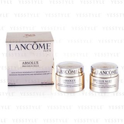 Lancome 兰蔲 - Absolue Precious Cells Coffret: Absolue SPF 15 50ml and 15ml + Night Care 15ml + Eye Concentrate 5ml + Oleo-Serum 5ml