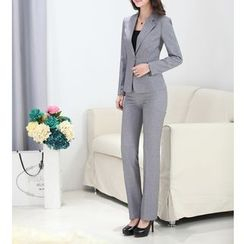 Caroe - Set: Slim-Fit Blazer + Dress Pants