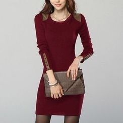 Supernova - Long-Sleeve Bodycon Dress