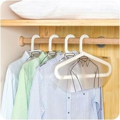 Eggshell Houseware - Translucent Clothes Dust Cover