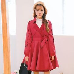 Princess Home - Double-breasted Trench Coat