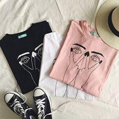 Ashlee - 印花T恤