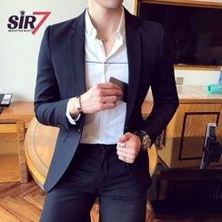 SIRIUS - Single Button Blazer