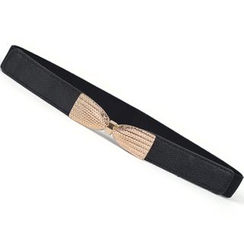 Yist! - Faux Leather Slim Belt