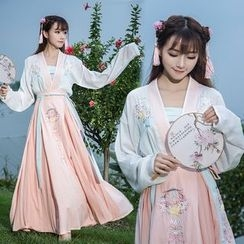 Diosa - Chinese Traditional Dress Costume Set