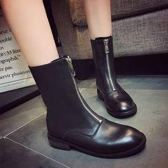 周董女鞋 - 中筒靴
