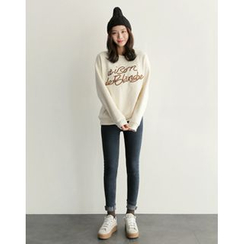 UPTOWNHOLIC - Fleece-Lined Skinny Jeans