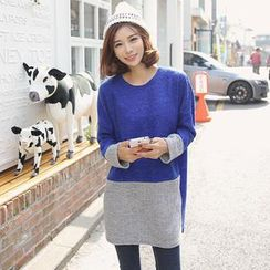 Envy Look - Two Tone Knit Tunic