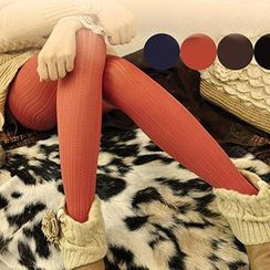 Yammi - Striped Tights