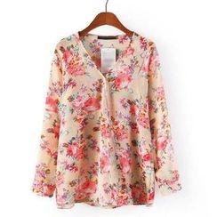 JVL - Floral Chiffon Blouse