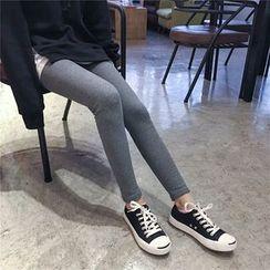 MePanda - Plain Ribbed Leggings
