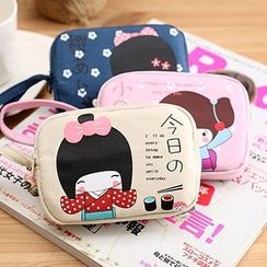 ITOK - Cartoon Canvas Coin Purse