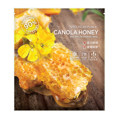 Nature Republic - Real Nature Aqua Gel Mask (Canola Honey)