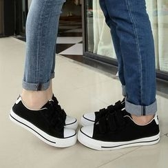 Artree - Couple Matching Velcro Sneakers