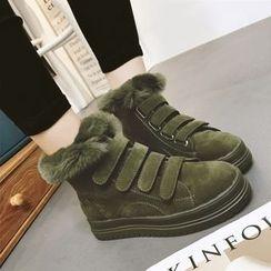 Yoflap - Furry Short Boots