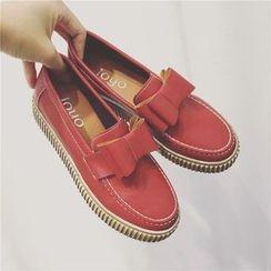 kokoin - 蝴蝶結樂福鞋