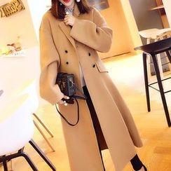 SUNA QUEEN - Woolen Long Coat